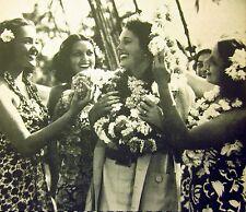 HURRICANE clippings sexy Mary Astor tropical B&W photos Tahiti 1937 Ray Massey