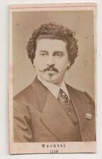 Vintage CDV Theodor Wachtel Alemán Tenor Opera Singer