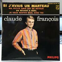 Claude François, si j'avais un marteau + 3,  EP - 45 tours imp Richir - EX / EX