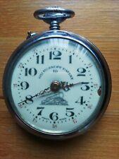 Antique Roskopf Patent Railway Pocket Watch
