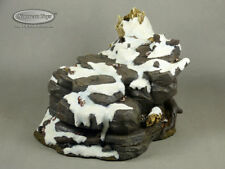 "1/6 Scale Phicen, TBLeague Large Action Figure Prop Snow Scene Base 9""x 8"" x 6"""
