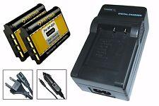 Ladegerät + 2 x Patona Akku für Sony Action-Cam X1000V 4K  (FDR-X1000V) - NP-BX1