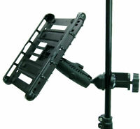Music Microphone Stand Tablet Clamp Mount for Galaxy TabPRO 12.2, 10.1, 8.4