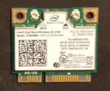 Intel Wireless-AC 3160 dual band 5ghz 433 Mbit/s WLAN + Bluetooth Mini PCIe +
