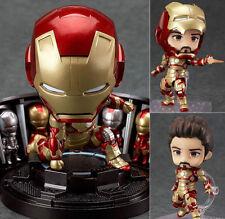 Nendoroid 349 Iron Man Mark 42 Hero's Edition + Hall of Armor Set Figure