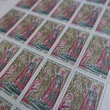 FEUILLE SHEET TIMBRE HISTOIRE SACRE DE NAPOLÉON N°1776 x25 1973 NEUF ** LUXE MNH