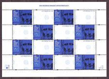 Polen Poland 2009 Bogen Sheet 200th Anniversary of the birth of Louis Braille