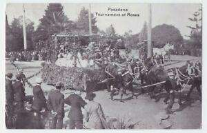 (3) c1910 Pasadena Tournament of Roses Parade Floats by Grammar Schools Seasons