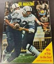 1969 CFL Magazine Program Hamilton Tiger Cats Saskatchewan Rough Riders  P 51177