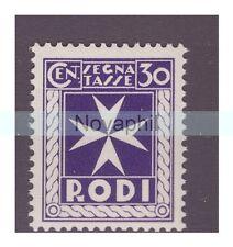 EGEO RODI  1934  -  SEGNATASSE   CENTESIMI 30   NUOVO **