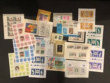 All world selection of 20 mnh stamp sheets - good value #9