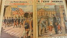 PETIT JOURNAL - 1926 - N° 1849 un bleu père de deux enfants / entente france USA