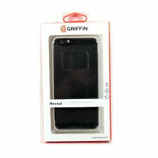GRIFFIN CASE FOR IPHONE 6S PLUS 6 PLUS REVEAL CLEAR BACK WHITE FRAME NEW GB40672