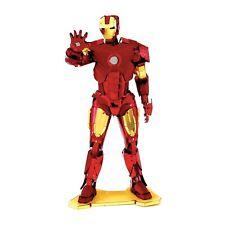 Fascinations Metal Earth 3D Steel Model Kit Marvel Iron Man Color Tony Stark
