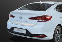 Chrome Silver Rear Trunk Garnish Molding D-075 EMS for Hyundai Elantra 2019~2020