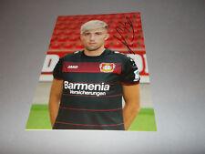Kevin Kampl Bayer 04 Leverkusen FIRMATO SIGNED AUTOGRAFO foto 20x28