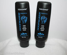 2 Equenne Hoofmaker Hand & Nail Lotion Protein Creme 4 oz each New