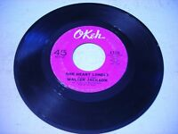 Walter Jackson One Heart Lonely / Funny ( Not Much ) 1966 45rpm