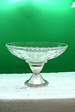 Sterling and Crystal Candy Dish By Duchin Creation