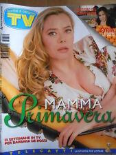 TV Sorrisi e Canzoni n°12 1997 Barbara De Rossi U2 Syria Romina Mondello [D45]