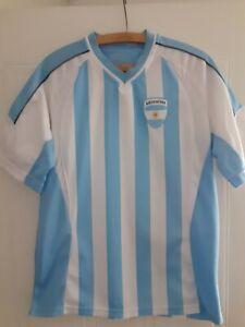 Argentina Football Jersey Shirt Home Top Trikot Camiseta Maglia Rare Mens Size