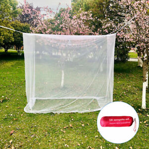 Outdoor Camping Mosquito Net Indoor Netting Storage Bag Insect Tent Large White
