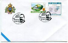 1997-12-12 San Marino Lecce 24° mostra filatelica salentina ANNULLO SPECIALE