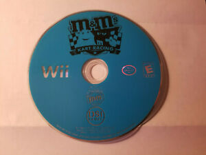 M&Ms Kart Racing (Nintendo Wii) - Disc Only - Tested & Working