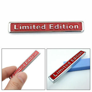 1x 3D Limited Edition Style Emblem Car Body Decal Badge Sticker Car Accessories