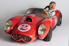 Guillermo Forchino Comic Art-The Fireball Race Car statue Figurine Sculpture