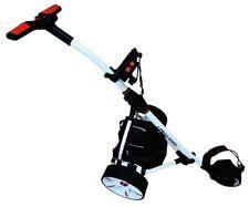 Carro  eléctrico de golf  Pro Kaddy modelo S1T2 blanco