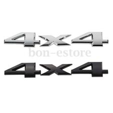 4x4 3D Car Emblem Badge Trunk Sticker Logo Decal Metal For Jeep Grand Cherokee