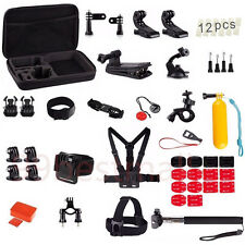 GOPRO HERO SESSION 4 3+ 3 2 PULUZ 53 IN 1 ULTIMATE ACCESSORY MOUNTS KIT + CASE