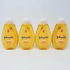 Lot of 4 Johnsons Baby Shampoo No More Tears Gentle 13.6 fl oz ea New