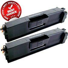 2 Pack TN336BK TN-336 Black Toner Cartridge For Brother HL-L8250CDN HL-L8350CDW