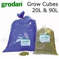 Grodan Rockwool Grow Cubes 20L & 90L Bags