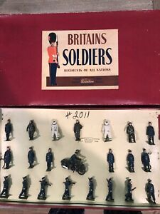 Britains: Rare Boxed Set 2011 - Royal Air Force Display. 54mm Metal Figures