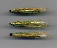 Tube Flies: Fast Eddie : 50 mm long brass & plastic tube x 3 (Code 553)