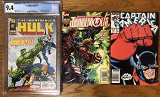 Hulk #449 CGC 9.4 Captain America #354 Newsstand Thunderbolts #1