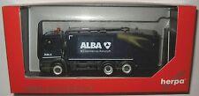 Herpa 306966 MB Antos 3-achs Pressmüllwagen Alba 1:87 HO