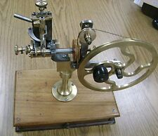 Antique Topping Tool,Gearwheel Cutting Machine / Jeweler's Lathe Circa 1840