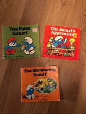 3-Vintage- The Fake Smurf,The Smurf's apprentice+The Wandering Smurf