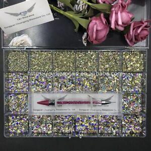 Multi Shape Crystal Stone Decoration Design Flatback Nail Art Fancy Rhinestone