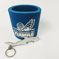 Vintage Hawaii Koozie 1994 w/ Metal Shark Beer Tab Opener