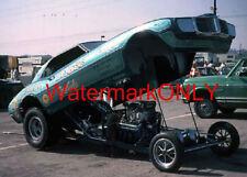 """Jess Tyree """"Mr. Pontiac"""" 1969 Pontiac Firebird NITRO Funny Car PHOTO!"""