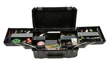 SKB Black tackle / tool case. W/ Wheels & Pelican TSA- 1510 lock 3i-2011-7B-TR