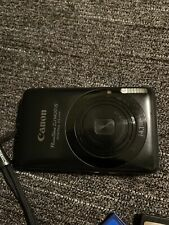 Canon PowerShot Digital ELPH SD1400 IS / IXUS 130 14.1MP Camera - Black Bundle!