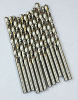 12 PCS 19/64 H.S.S. Jobber Drill Bits ,Bright, 118 Deg Point ( 5/16 Reamer Drill