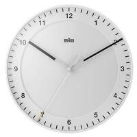 Braun BNC017 Wall Clock White 30cm