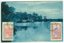 MADAGASCAR: Postcard to Switzerland 1930. (1)